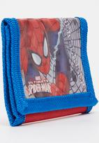 Character Fashion - Spiderman Wallet Mid Blue