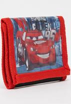 Character Fashion - Cars Wallet Red