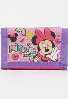 Character Fashion - Minnie Mouse Wallet Pale Purple