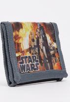 Character Fashion - Star Wars Wallet Grey