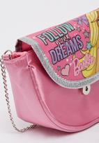 Character Fashion - Barbie Purse Bags Mid Pink