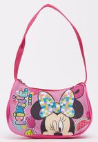 Character Fashion - Minnie Mouse  Purse Bags Mid Pink