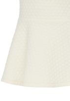 See-Saw - A-line Skirt Off White