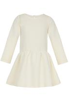See-Saw - Textured Dress Cream