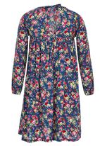 See-Saw - Baby Doll Dress Multi-colour