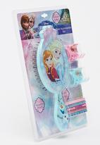 Character Fashion - Frozen Brush Combo Set Multi-colour