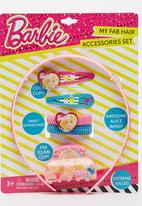 Character Fashion - Barbie Alice Band Combo Set Mid Pink