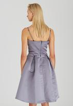 ELIGERE - Audrey Dress with Shawl Grey