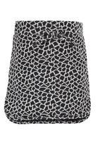 See-Saw - Cotton Fleece Skirt Multi-colour