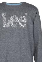 Lee  - Army Logo Tee Dark Grey