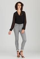 STYLE REPUBLIC - Wrap Bodysuit Black