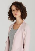 edit - Drape Jacket Pale Pink