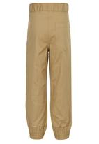 See-Saw - Cotton Joggers Stone