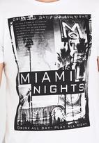 Dissident - DD Miami Nights T-Shirt White