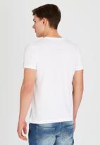 Dissident - DD Tattoo Flag T-Shirt White