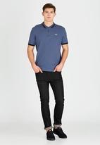 Le Shark - Brodlove Polo Blue