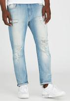 GUESS - Tapered Jeans Pale Blue