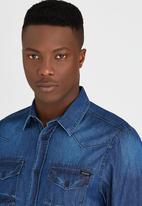 GUESS - Denim Shirt Blue