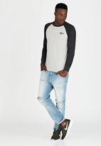Tokyo Laundry - Fremont Cove T-Shirt Dark Grey