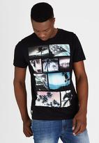 Dissident - DD Faded T-Shirt Black