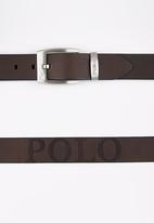 POLO - Leonardo Belt Dark Brown