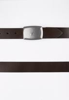 POLO - Hudson Belt Mid Brown