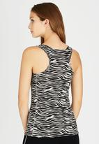 Russel Athletic - Printed Workout Singlet Animal Print