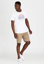 RVCA - Motors Lined T-Shirt White