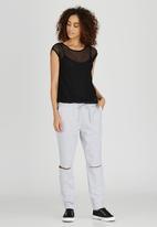 Kate Jordan - Power Mesh Vest Black