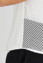 Kate Jordan - Power Mesh Vest White