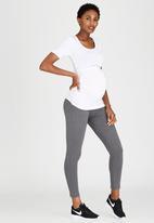 Cherry Melon - Side Gauge Short Sleeve T-shirt White