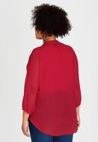 ME - La Bohem Blouse Red
