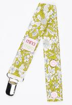 Mina Moo - Vintage Olive Dummy Clip Multi-colour