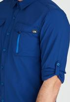 The North Face - Long Sleeve Sequoia Shirt Blue