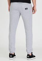 DC - Asphault Fleece Pant Grey