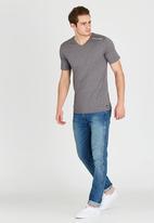 Quiksilver - Moon Barker T-Shirt Grey