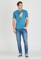 Quiksilver - Simple Simon T-Shirt Blue