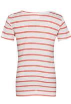 See-Saw - Hi-low T-shirt Coral