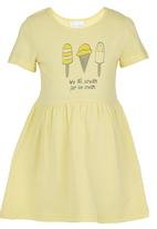 See-Saw - Dress With Print Yellow