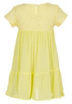 See-Saw - Anglaise Yoke Dress Yellow