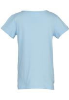 See-Saw - Hi-low T-shirt Pale Blue