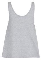 Rebel Republic - Glitter Print Vest Grey