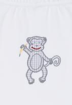 Nocturnal Affair - Monkey Leggings White