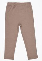 See-Saw - Jeggings with Badges Mid Brown