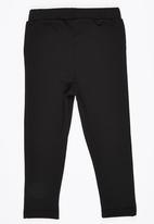 See-Saw - Jeggings with Badges Black