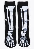 STANCE - Skeleton Socks Black