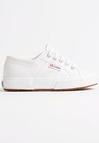SUPERGA - Classice Superga Sneaker  White
