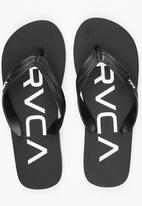 RVCA - Trench Town Sandal Black