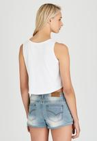Rip Curl - India Cross Over Tank White