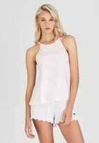 Rip Curl - Lace Basic Tank Top Pale Pink